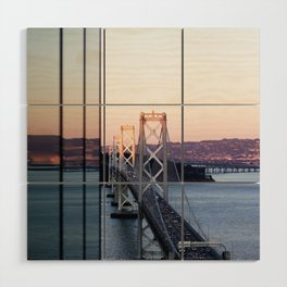 Reflections of the Bay Bridge Wood Wall Art