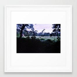 some nights Framed Art Print