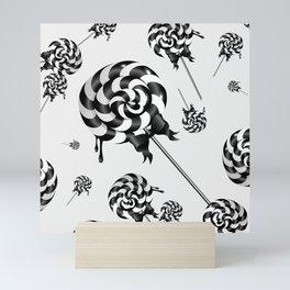 Goth Lollies Mini Art Print