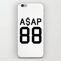 asap rocky iPhone & iPod Skins featuring ASAP by Isabelle