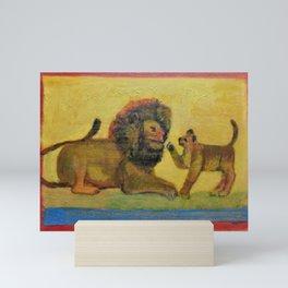Lions Mini Art Print