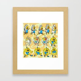 Become the Monster You Wish to Be Framed Art Print