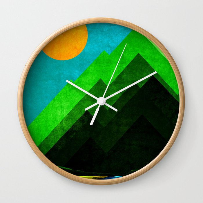 Riverland Wall Clock