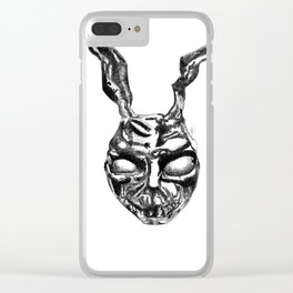Frank the rabbit Clear iPhone Case