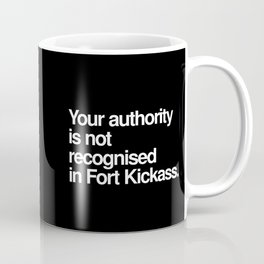 Fort Kickass Coffee Mug