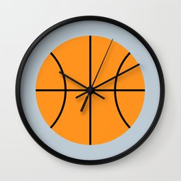 #9 Basketball Wall Clock