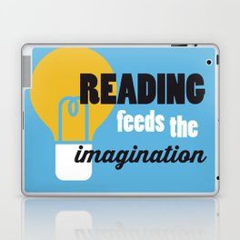 Imagination - Just Read Laptop & iPad Skin