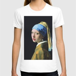 Vermeer - Girl with a Pearl Earring T-shirt
