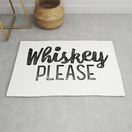 Whiskey Please Rug
