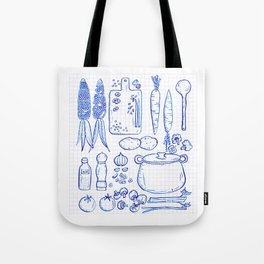 Vegetable Soup Tote Bag