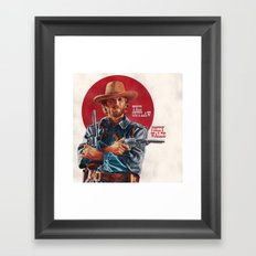 The Outlaw Josey Wales Framed Art Print