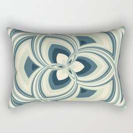 Spiral Rose Pattern E 1/4 Rectangular Pillow