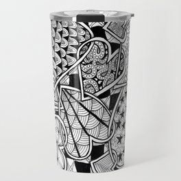 Zentangle Friends Come in All Sizes and Shapes Travel Mug