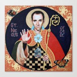 Saint Nicolas of Cage Canvas Print