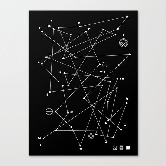 Raumkrankheit Canvas Print