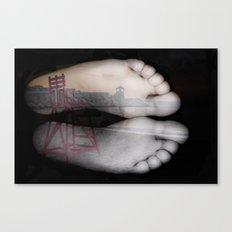 Beach Feet #2 Canvas Print