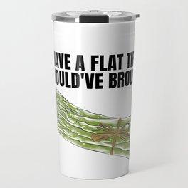 Platter Tire Asparagus Joke Gift Funny Meme Travel Mug