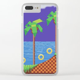 Retro Video game Clear iPhone Case
