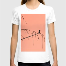 Kingfisher silhouette T-shirt