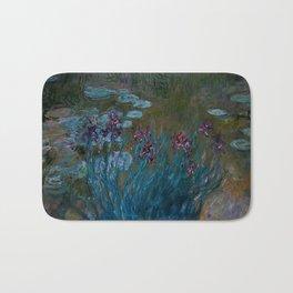 """Claude Monet """"Irises and Water-Lilies"""", 1914 - 1917 Bath Mat"""