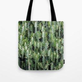 Candelabra Cactus Tree Tote Bag