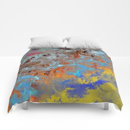 autumn fresh rainy days Comforters