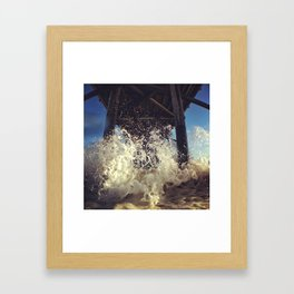 Newport  Splash Framed Art Print