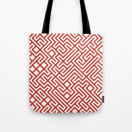 10 Print: Bold Red Tote Bag