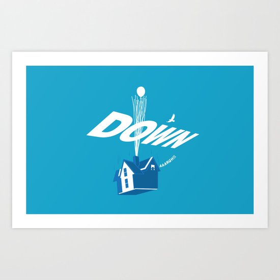 Down Art Print
