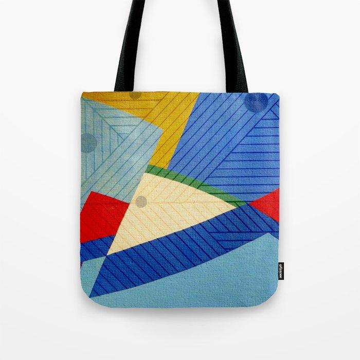 Fish Lines Tote Bag