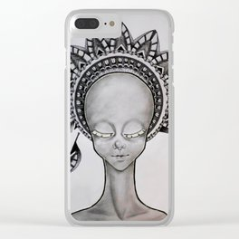 Crowned Clear iPhone Case