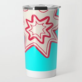 POW -  (Bright Blue) Travel Mug