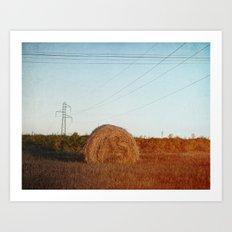 Lost needle... Art Print