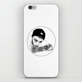 Beanie Zayn iPhone Skin