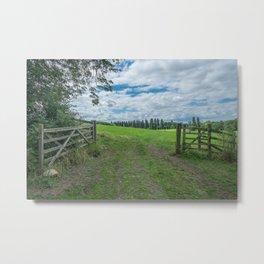 Warwickshire Landscape II Metal Print