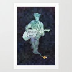 Genie Bard Art Print