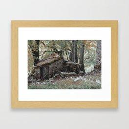 Ruins in Como, I Framed Art Print