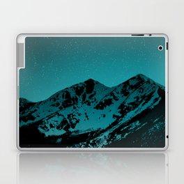 Mountains at night series II // Boulder Colorado Laptop & iPad Skin