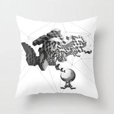 Think Boy Throw Pillow