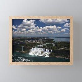 Niagara Falls on a Summer's Day Framed Mini Art Print