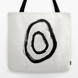 The Rings of Suminagashi (West Meets East Series) Tote Bag