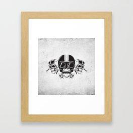 Skull Brothers Inside Framed Art Print