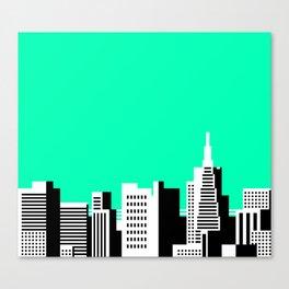 Cityscape #44 Version 2 Canvas Print