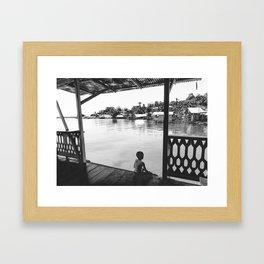 Quiet Moment on Isla Bastimento, Panama Framed Art Print
