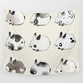 Little Bunnies Wall Tapestry