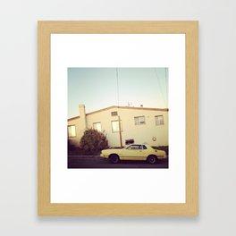 creamery Framed Art Print