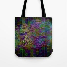 Cut up  Tote Bag
