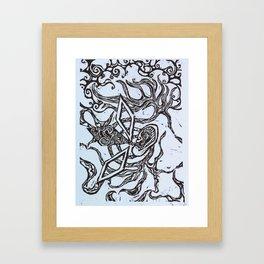Listener Framed Art Print