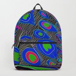 Peacock Art Backpack