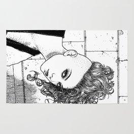 asc 651 - La jeune rebelle (The young mohawk) Rug
